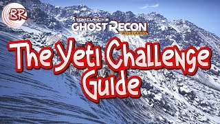 The Yeti Challenge Guide - ALL HINT LOCATIONS inc. MAP - Week 7 Season 2 - Ghost Recon:Wildlands
