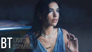 Dua Lipa - Levitating Featuring DaBaby (Lyrics + Español) Video Official