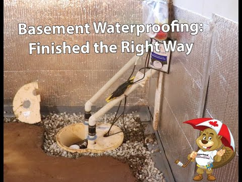 Basement Waterproofing: Finished the Right Way