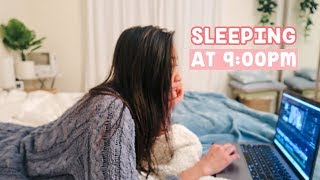 Sleeping at 9PM to Wake up at 5AM | Night Routine 2020 😴