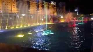 Астана. 2012 год. Поющий фонтан. Красота.