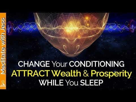 ABUNDANCE Affirmations while you SLEEP! Program Your Mind for WEALTH & PROSPERITY. POWERFUL!!