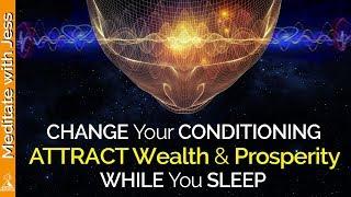 ABUNDANCE Affirmations while you SLEEP! Program Your Mind for WEALTH & PROSPERITY. POWERFUL!!