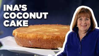 How To Make Inas Coconut Cake | Food Network