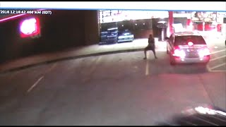 Police: Surveillance catches shots fired at Lawrenceville gas station