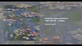 Sonata for Violin and Viola in C major, MH 335