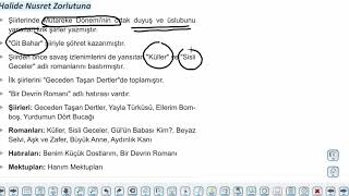 Eğitim Vadisi 11.Sınıf TDE 12.Föy Milli Edebiyat Dönemi Şiiri Konu Anlatım Videoları