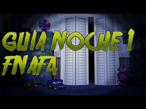 FNAF 4 Guia y Trucos Noche 1 | Como pasar la noche |