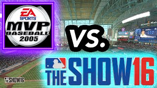 MVP BASEBALL VS MLB THE SHOW!