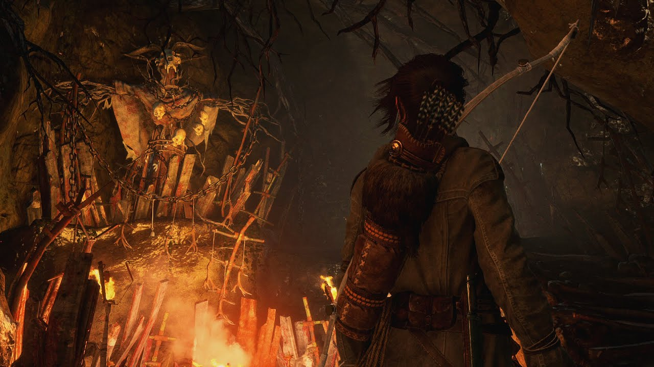 Video Rise of the Tomb Raider DLC: Baba Yaga - The Temple of the Witch [DLC]