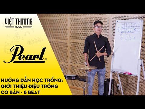 Hướng dẫn học trống: Giới thiệu điệu trống 8 beat cơ bản