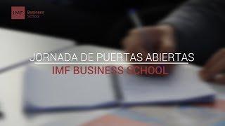 Presentación de Masters IMF | Jornada de Puertas Abiertas