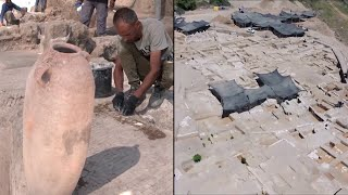 1,500-Year-Old Wine Factory Uncovered in Israel