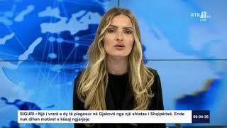 RTK3 Lajmet e orës 08:00 08.07.2020