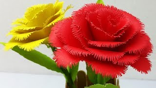 Paper Flower Making Videos Youtube