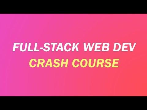 Full-Stack Web Dev Crash Course: Coding a SaaS App in JavaScript