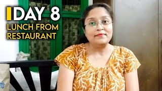 DAY 8|LUNCH FROM RESTAURANT|SIMPLE LIFESTYLE WITH KASTURI