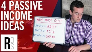 HOW TO EARN PASSIVE INCOME 💸 (Ways To Make $1,000 Or More Each Month!)