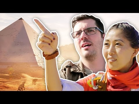 WE ARE IN EGYPT?!?
