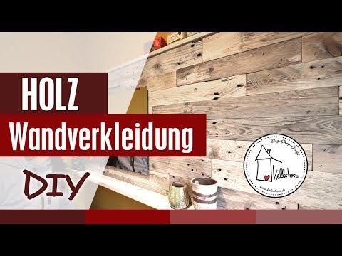 Holz Wandverkleidung DIY und ein mysteriöses Paket