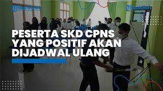 Hari Ke-2 Pelaksanaan SKD CPNS Kaltara Berjalan Lancar, Peserta yang Positif akan Dijadwalkan Ulang