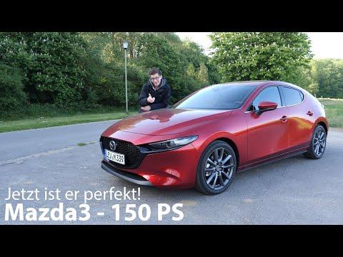 Der perfekte preiswerte Kompakte: Mazda3 Skyactiv-G 2.0 M Hybrid (150 PS) Test [4K] - Autophorie