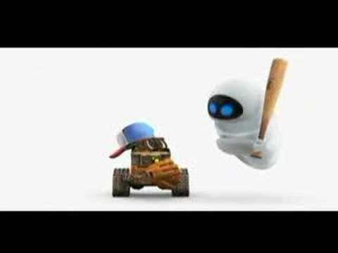 Wall-E (Playing Baseball Vignette)