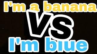 I'm A Banana Vs I'm Bluesinging Battle Next GenerationGLMVVOICE REVEAL!!