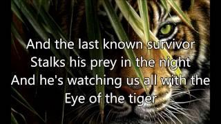 Survivor – Eye Of The Tiger lyrics