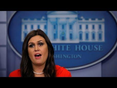 Sarah Huckabee Sanders White House Press Briefing 12/5/17