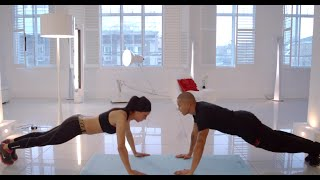 COUPLES WORKOUT - GET FIT AND HEALTHY TOGETHER by BETHEFITTEST