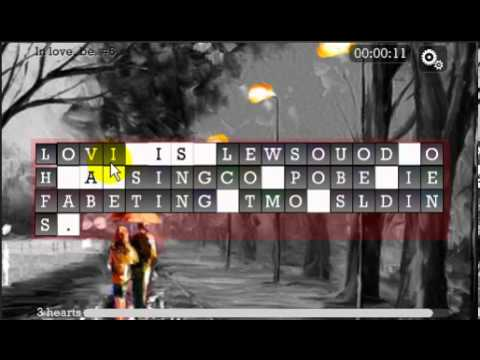 Video of WORD PUZZLE for ROMANTIC SOUL