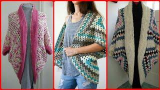 Impressive And Unique Crochet Shrugs Design // Crochet Cardigan Shrugs Ideas For Ladies