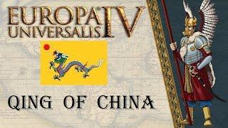 EU4 Mandate of Heaven Qing of China achievement run 10