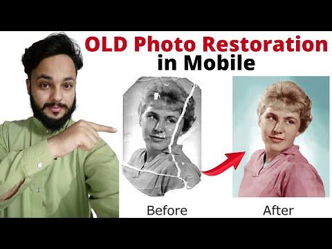 Old Photo Restoration - Remini App