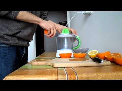 Video Orange and Lemon Juice Recipe