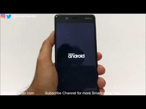FORGOT PASSWORD - How to Unlock the Nokia 5 or ANY Nokia Android Smartphone