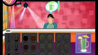NEW мультик онлайн для девочек—Готовим коктейль из сока и фруктов—Игры для детей