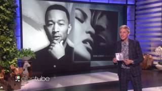 John Legend Performs 'Love Me Now'!