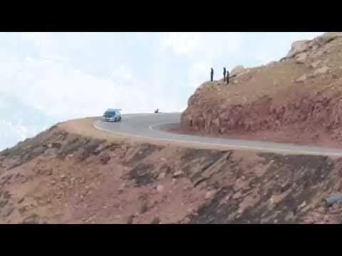 Car Drives Off Cliff At Pike's Peak