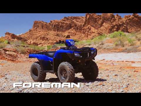 2020 Honda FourTrax Foreman 4x4 EPS in Sanford, North Carolina - Video 1