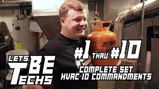 Complete HVAC 10 Commandments
