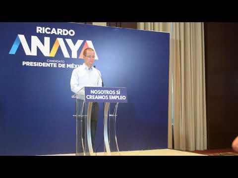 Ricardo Anaya llama a no generar violencia