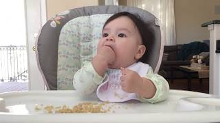 Baby Led Weaning (BLW) - Day 40 - Quinoa (7m3d)