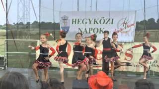 preview picture of video 'Hegyközcsatári Angels Mazsorett Csoport Hegyközi Napok 2014-en'