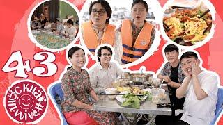 """Thực Khách Vui Vẻ #43: Don Nguyễn """"sốc tâm lý"""" vì bị Lâm Vỹ Dạ, Huỳnh Lập """"ép"""" đi ăn quá nhiều"""