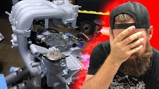 WE MESSED THIS UP WHEN BUILDING THE FD RX-7's 13B ENGINE.... (SOME OF YOU CAUGHT IT...)