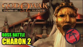 God Of War: Chains Of Olympus - BOSS BATTLE: KRATOS VS CHARON 2