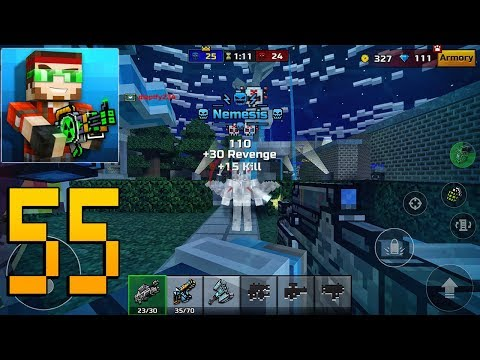 Pixel Gun 3D - Gameplay Walkthrough Part 55 - Battle Pass Missions
