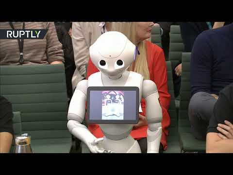 Future is here? 'Emotionally aware' robot talks to UK MPs